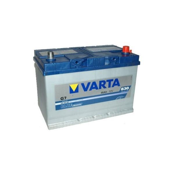 bateria varta g7 95ah blue dynamic 830a 12v. Black Bedroom Furniture Sets. Home Design Ideas