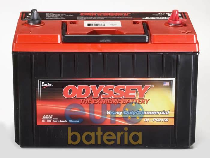battery odyssey agm 12v 100ah pc2150s. Black Bedroom Furniture Sets. Home Design Ideas