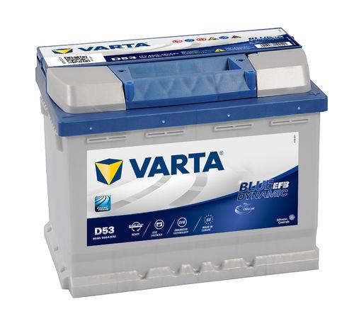 60 Ah Varta D43 Blue Dynamic car battery