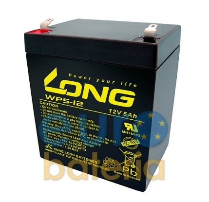 12v 5ah Battery >> Battery Long Agm 12v 5ah